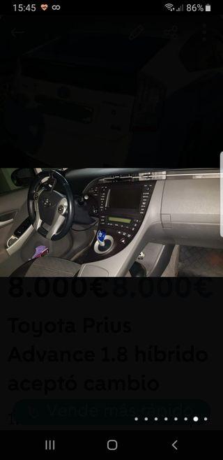 Cambio Toyota Prius Advance 1.8 perfecto estado