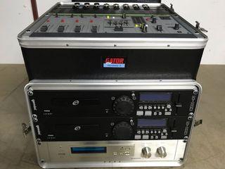 Rack de sonido Gemini, equipo de música