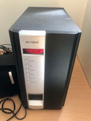 MS Tech LD1500 Home Cinema - averiado sin mando