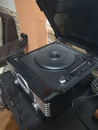 reproductor discos y mp3