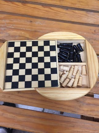 Juego de ajedrez de viaje
