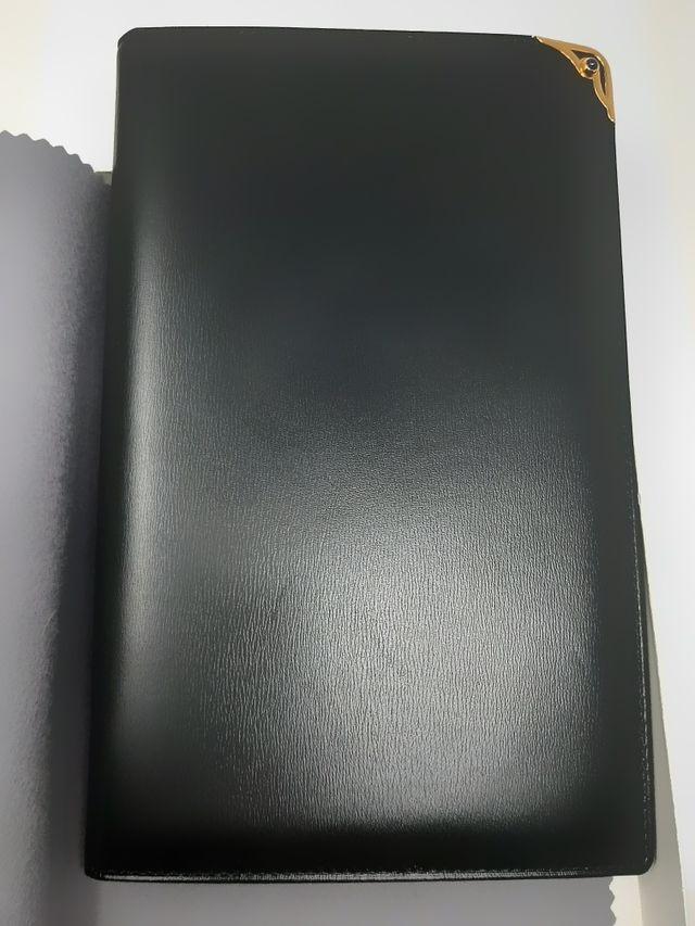 agenda Cartier de piel