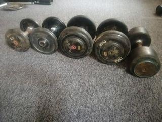 mancuernas kit de pesas
