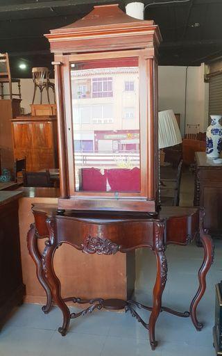 Consola de Caoba del siglo XIX
