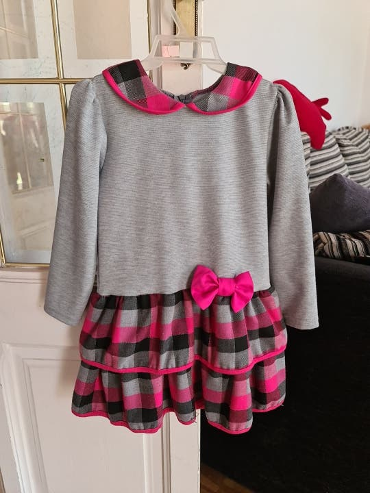 vestido niña, 4-5años