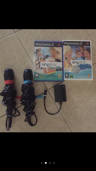 VIDEOJUEGOS + accesorios para PS2
