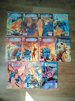 Los 4 Fantásticos - Mark Waid - 11 comics