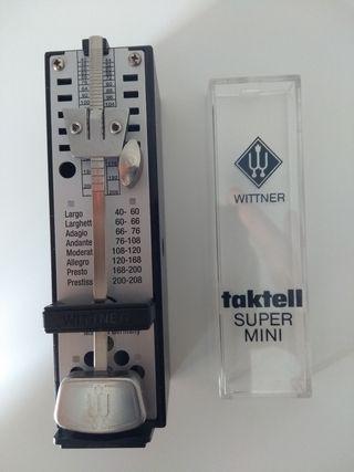 Metrónomo Wittner taktell