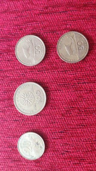 Monedas dracmas griegos