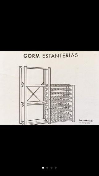 Estantería para vino Ikea Gorm