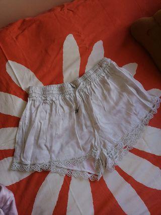 pantalón lencero beige