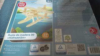 Puzzle madera 3D