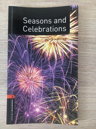 Libro lectura inglés Seasons and celebrations + cd