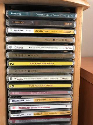30 CD grandes intérpretes ópera clásica