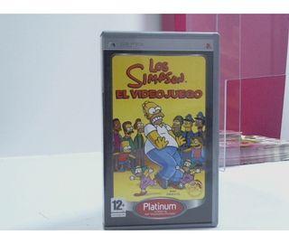 Psp Los Simpson El Videojuego