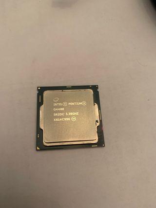Procesador intel G4400 con disipador