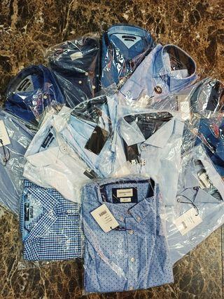 Variedad de camisas
