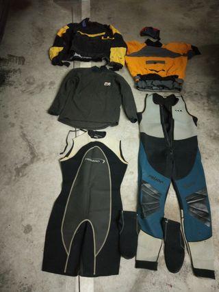 pack neopreno kayak