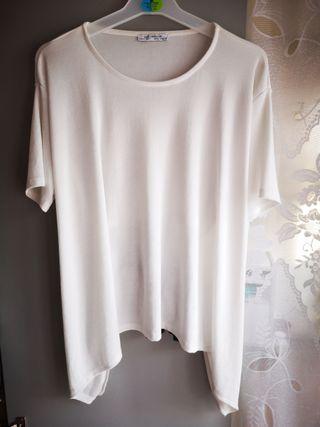 Blusa blanca de Zara