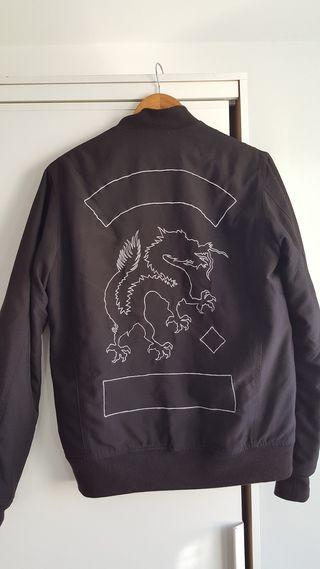 Chaqueta Bomber Maharishi Black Souvenir Japon