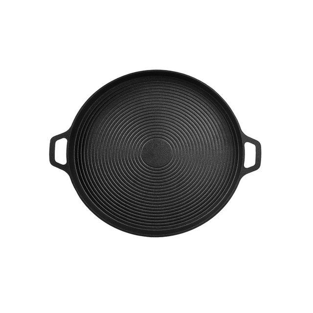 Sartén para pizza pan (hierro fundido 34cm) tajine