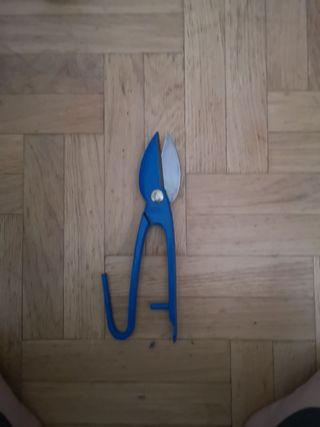tijera corta chapa nueva