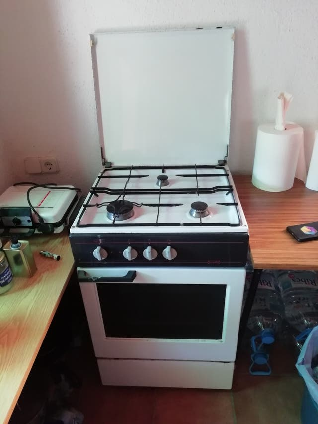 Cocina gas butano 'Crolls'