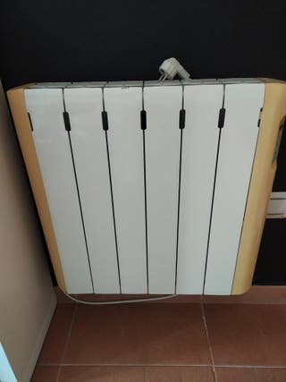 Vendo radiador de calor azul