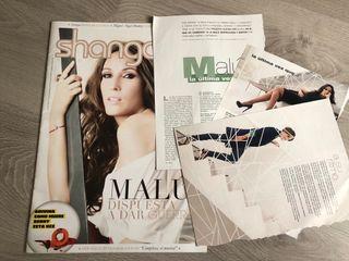 Malú, revista shangay y recortes de prensa