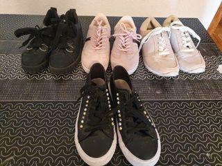 lote 4 para zapatillas talla 37