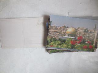 postales Jerusalem Israel muro lamentaciones