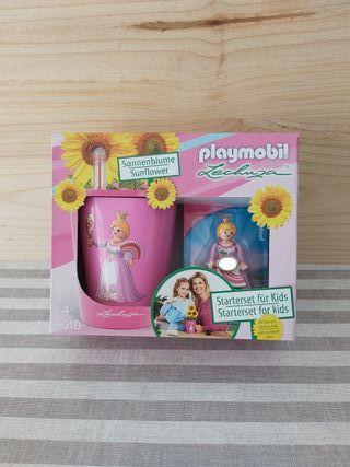 PLAYMOBIL Set de princesa con set de plantación