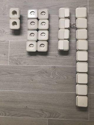 Enchufes e interruptores