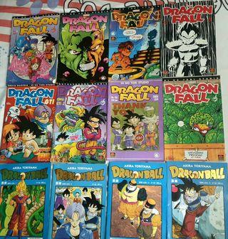 Comics Dragon Fall y dragon Ball