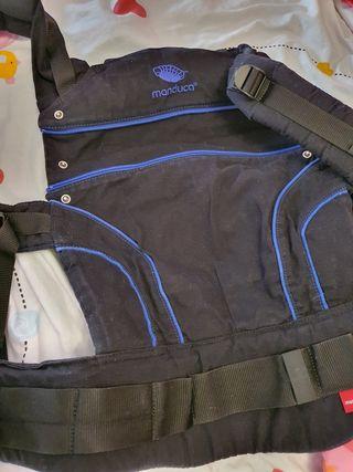 Manduca First BlackLine AbsoluteBlue portabebés