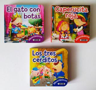 Pack de 3 mini libros