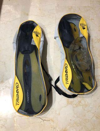 Snorkel Gafas Tubo Aletas Buzo Bucear