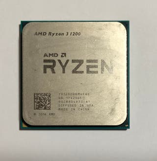 PROCESADOR AMD RYZEN 3 1200 AM4 NO FUNCIONA!