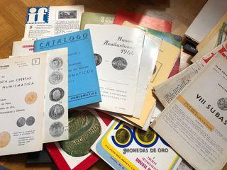 Catálogos y revistas numismatica años 60 y 70