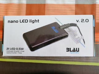 Pantalla nano Led light 2.0 BLAU aquaristic