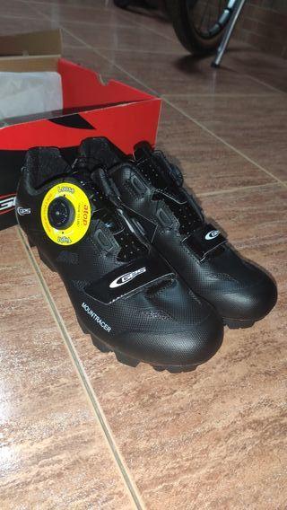 Zapatillas bicicleta Ges BTT nuevas