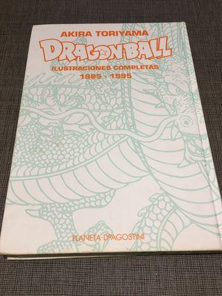 Dragon ball, ilustraciones completas