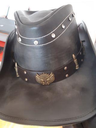 Sombrero Cowboy cuero a estrenar