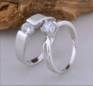 dos anillos, plata