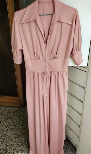 Vestido bata de verano. Vintage