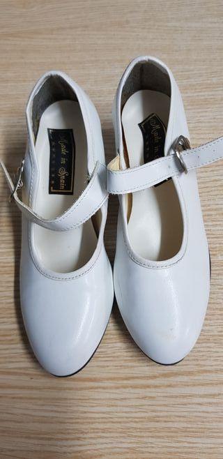 zapatos para vestidos de gitana del 33