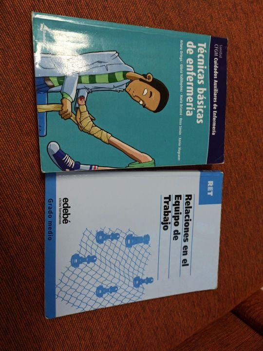 libros de auxiliar de enfermeria TCAE