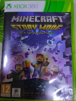 Juego Minecraft Story Mode Xbox 360