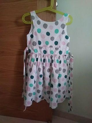 vestido de puntos