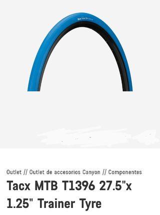 "2 cubiertas Tacx MTB T1396 27.5"" x 1.25"""